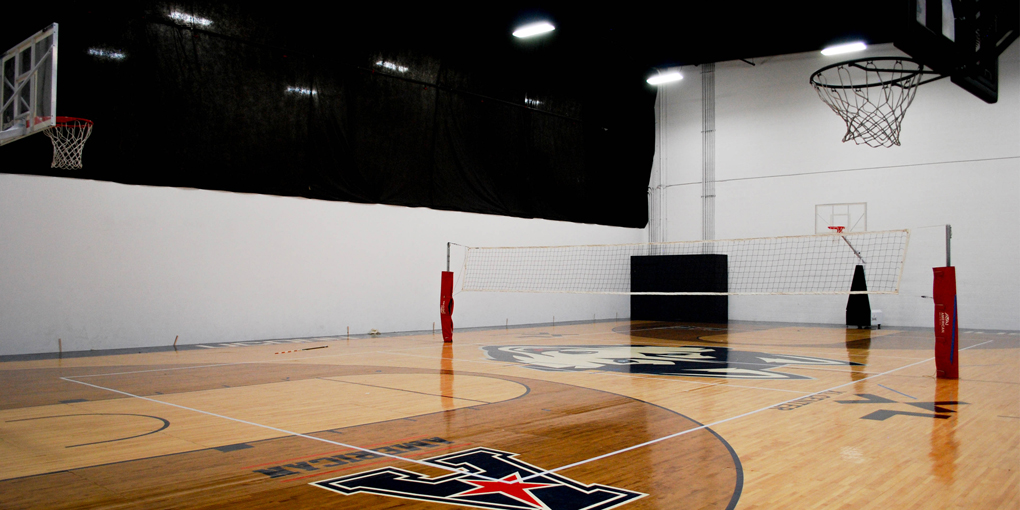 Volleyball and Basketball court in Clarksville tn