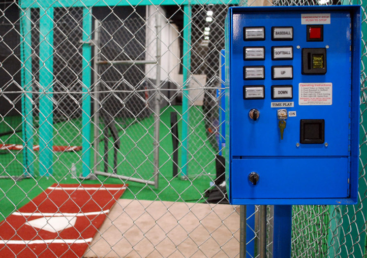 Batting Cages and automatic pitching machines