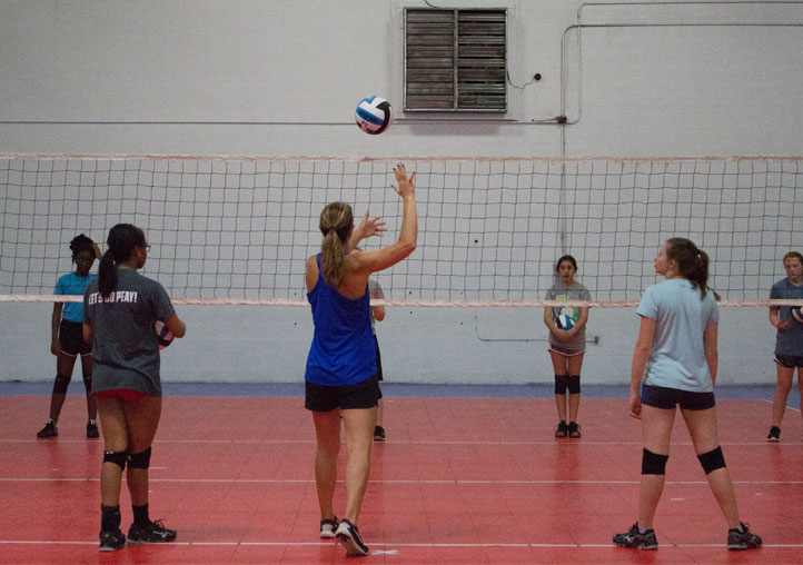 Volleyball lessons and coaches in clarksville tn