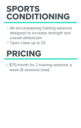 Weight training prices